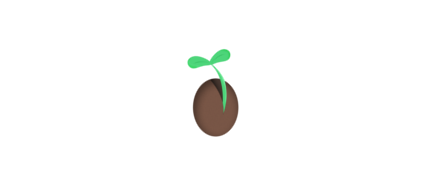 Free membership icon of a seed